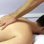 massaggio per il benessere del paziente